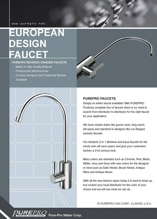 PurePro® USA Faucet - RO Faucets