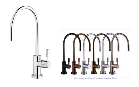 stainless steel water filter faucet. PurePro Luxury RO SystemsLUX 105 Water Filter Faucet Stainless Steel  Elegant series lead free